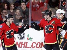 8:3! Calgary entfacht ordentlich Feuer