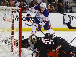 Dank Draisaitl: Oilers machen Druck auf die Ducks