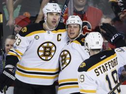 Calgarys Siegesserie reißt gegen Boston