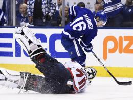 Leafs gewinnen Nervenschlacht - Hawks vor dem Aus