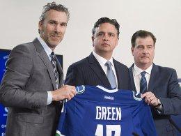 Canucks befördern Green in die NHL