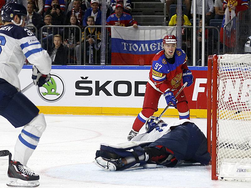 Hockey sur glace Nikita Gusev, joueur le plus «perché» des ...