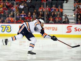 Kahuns nächster Streich - Draisaitl assistiert bei Oilers-Erfolg