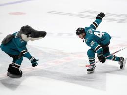 Hertl-Hattrick! Sharks siegen weiter
