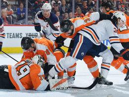 Erste Partie nach Pause: Oilers verspielen Führung