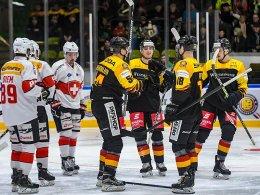 Sieg gegen die Schweiz: Einstand nach Maß für Söderholm