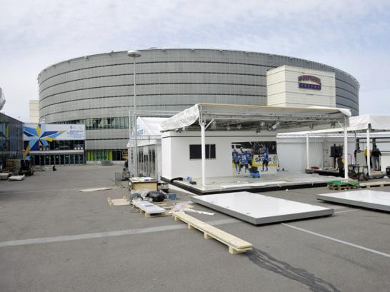 Eishockey-Arena in Helsinki