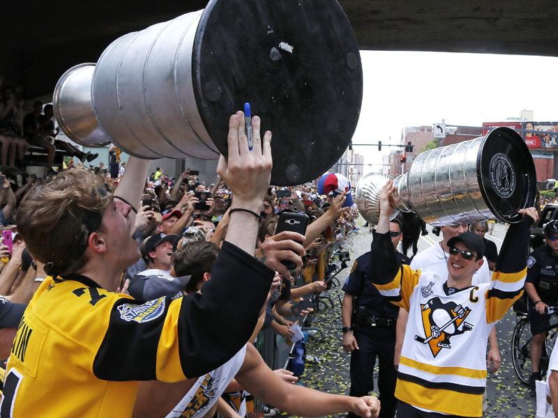 Paraden statt Fische: Pittsburghs Meisterfeier
