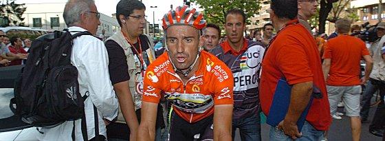 Gesamtsieger 2011: der Spanier Juan José Cobo vom Team Geox-TMC