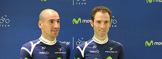 Alejandro Valverde und Juan José Cobo