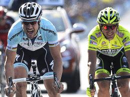 Tom Boonen und Filippo Pozzato