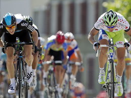 Ben Swift und Peter Sagan