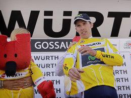 Gelb verteidigt: Rui da Costa triumphierte bei der Tour de Suisse.