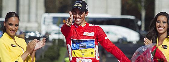 Schießt nach seiner Dopingsperre wieder scharf und gewinnt die Vuelta: Alberto Contador.