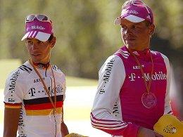 Andreas Klöden und Jan Ullrich (Archivbild von 2004)