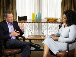 Geständnis bei Oprah Winfrey: Lance Armstrong.