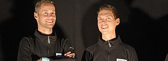 Zahlreiche Stars: Tom Boonen (links) und Tony Martin sind nur zwei davon.