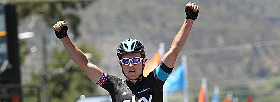 The Sky is the Limit: Geraint Thomas holte sich die zweite Etappe in Australien.