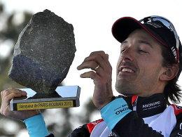 Der begehrteste Stein im Radsport: Fabian Cancellara hat jetzt drei.