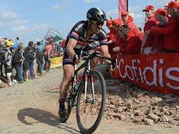 Historische Dreckschleuder: Das Original-Rad aus Roubaix wurde nie gewaschen.