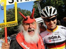Tour-Teufel Didi Senft und Emanuel Buchmann