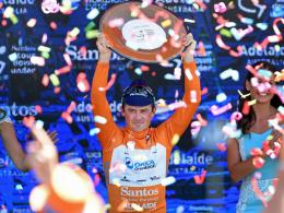 Feiert seinen vierten Sieg bei der Tour Down Under: Simon Gerrans.