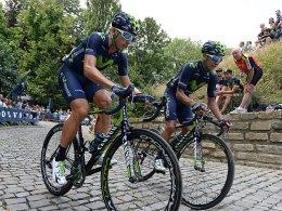 Adriano Malori (links) und Nairo Quintana