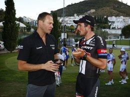 Teamchef Iwan Spekenbrink und John Degenkolb