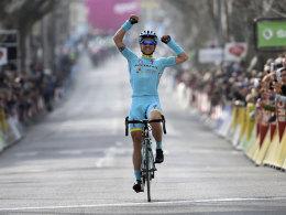 Fuhr auf den zweiten Platz der Gesamtwertung: Alexey Luzenko.