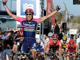 Davide Cimolai entschied die sechste Etappe für sich. Nikias Arndt hatte das Nachsehen.