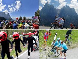 """""""Berge Spezial"""": Der Giro dreht eine Ehrenrunde durch die Dolomiten."""
