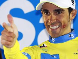 Sieger des Prologs zum Auftakt des 68. Criterium du Dauphiné: Alberto Contador.