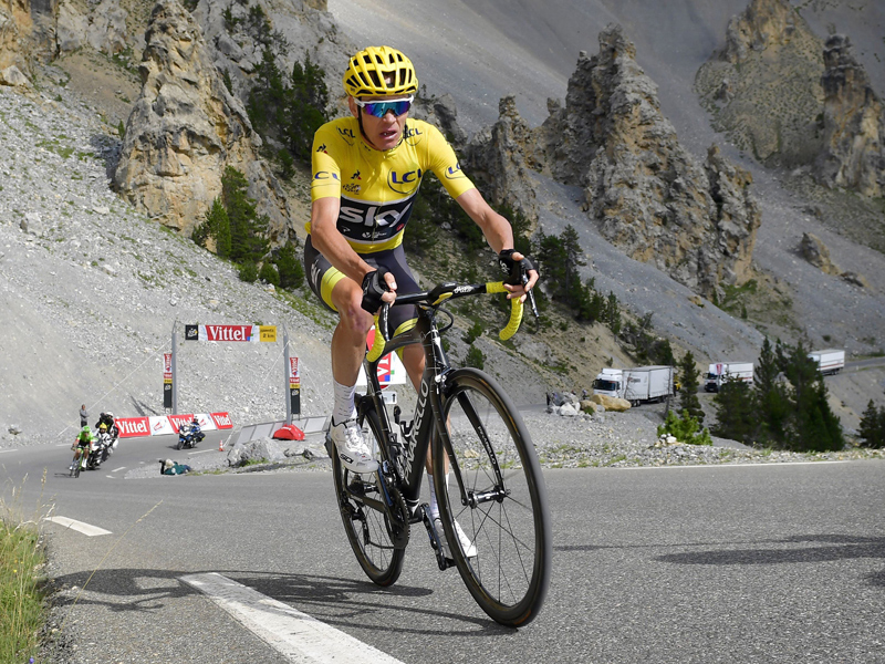 Barguil gewinnt Bergankunft am Col d'Izoard - Froome vor Toursieg