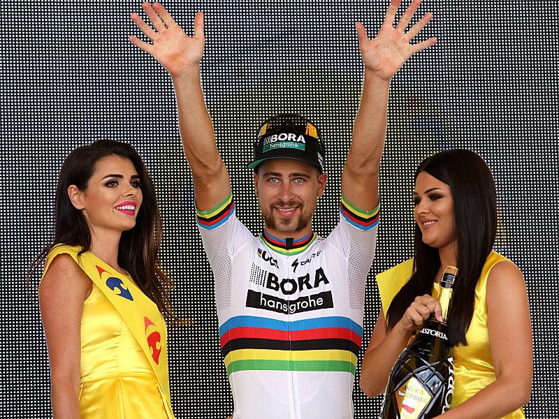 Mit Glatze zum Sieg: Tour-Buhmann Sagan gewinnt Polen-Auftakt