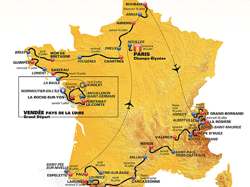 Tour De France Teams