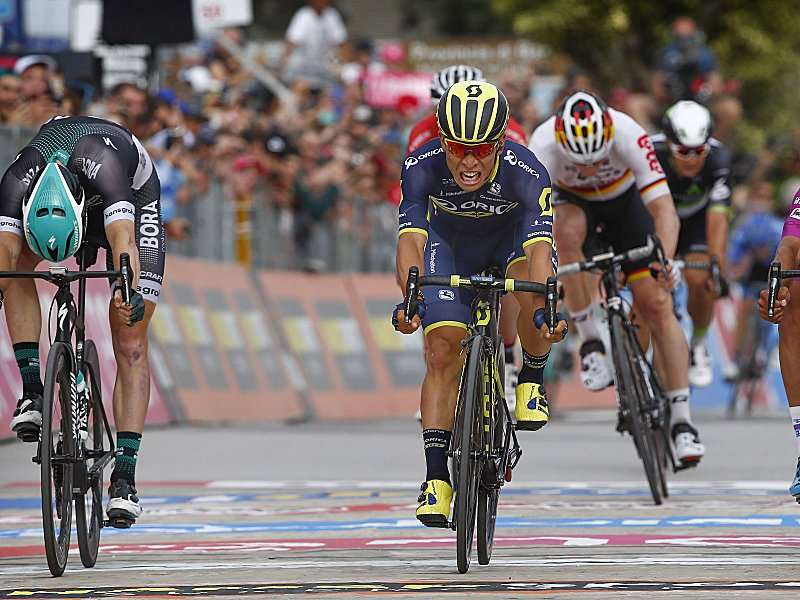 Australier Ewan gewinnt 7. Giro-Etappe - Greipel Vierter