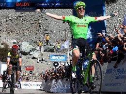 Talansky siegt am Mount Baldy - Kittel weit zurück
