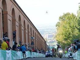 Giro-Start 2019: Bergzeitfahren in Bologna