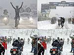 Wintereinbruch bei Tirreno- Adriatico