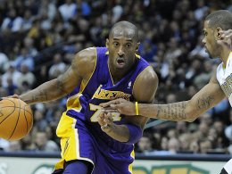 Kobe Bryant (links) Gary Forbes (rechts)