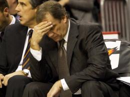 Seine Zeit ist abgelaufen: Flip Saunders wurde bei den Washington Wizards entlassen.