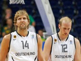 Dirk Nowitzki und Chris Kaman
