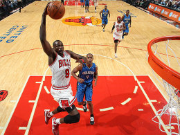 23 Punkte und Zünglein an der Waage im Endspurt: Bulls-Star Luol Deng beim Sieg über Orlando.