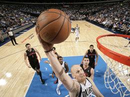 22 Punkte gegen die Raptors: Chris Kaman hat sich gut eingefügt in Dallas.