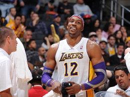 23 Punkte, 18 Rebounds: Dwight Howard hatte allen Grund zur Freude.