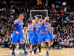 Der nächste Coup: Die New York Knicks entführten selbst aus San Antonio einen Sieg.