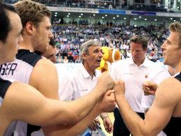 Deutsche Basketballer im Losglück