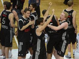 Da war der Jubel grenzenlos: Die Brose Baskets zogen in die Top 16 der Euroleague ein und ließen damit Freak City erbeben.