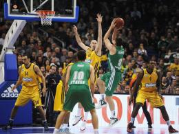 Wieder nicht gewonnen: Auch gegen Panathinaikos Athen ging Alba Berlin als Verlierer vom Platz.
