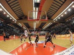 Wie lange noch Spielstätte für BBL-Partien? die Sporthalle Gießen-Ost.